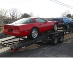 1984 Corvette Shipped to Customer Norway March 2014 -