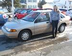 1993 Ford Escort Sedan January 2014 -