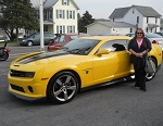 2010 Camaro SS Transformers Edition April 2014 -