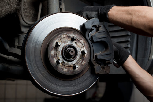 When should I have my brakes serviced?
