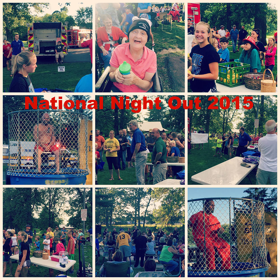 National Night Out Collage Banner
