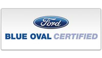 Blue Oval Certified Logo