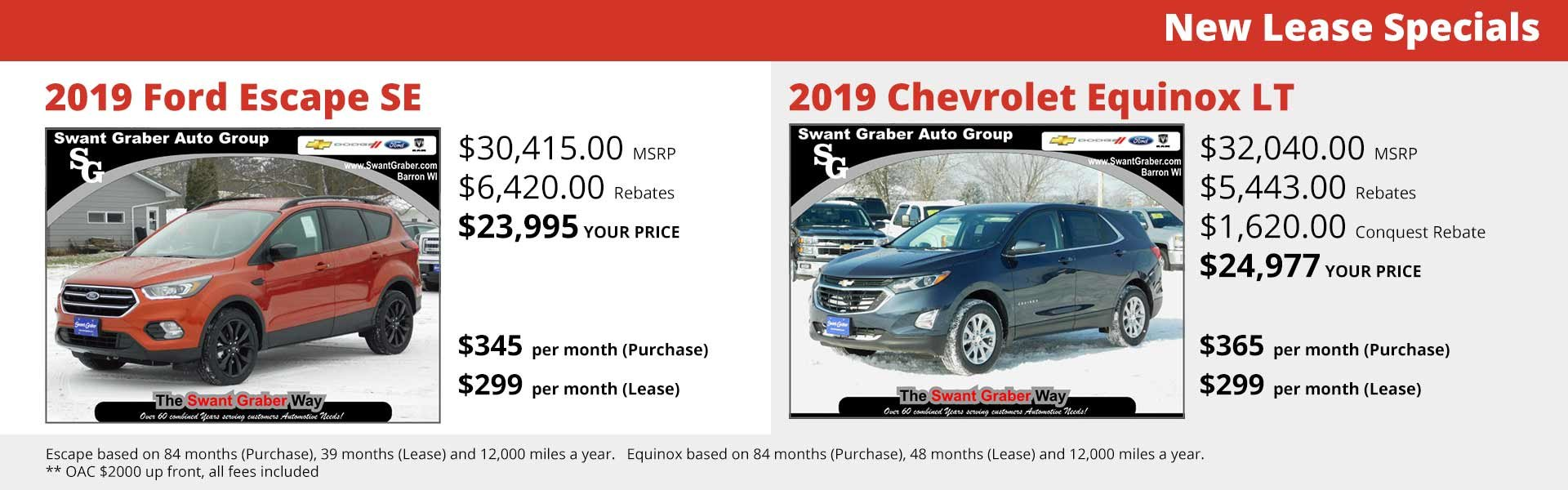 New Lease Specials