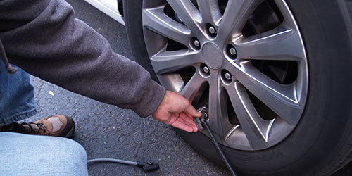 Do Routine Checks on Your Tire Pressure