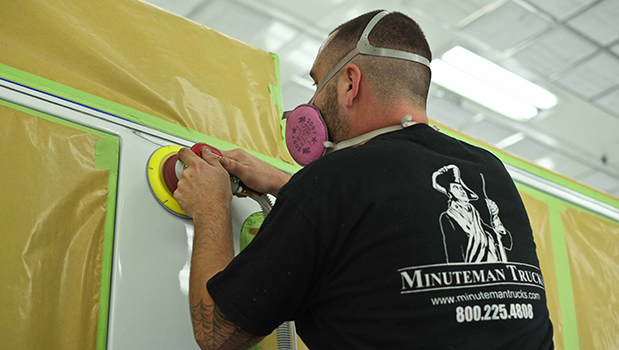 Body Shop Technician Career at Minuteman Trucks