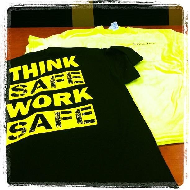 Safety T-Shirts at Minuteman