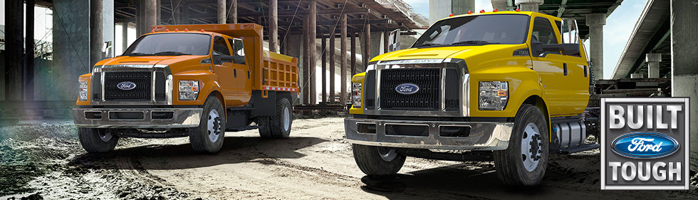 Ford Commercial Trucks at Minuteman Trucks