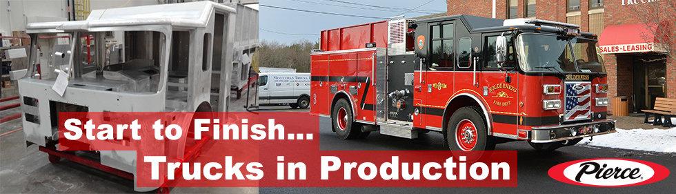 Pierce Trucks in Production