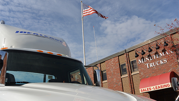Idealease at Minuteman Trucks