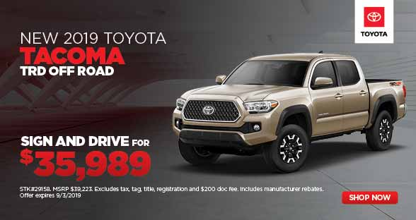 University Of Toyota >> New Vehicle Specials University Toyota Morgantown Wv