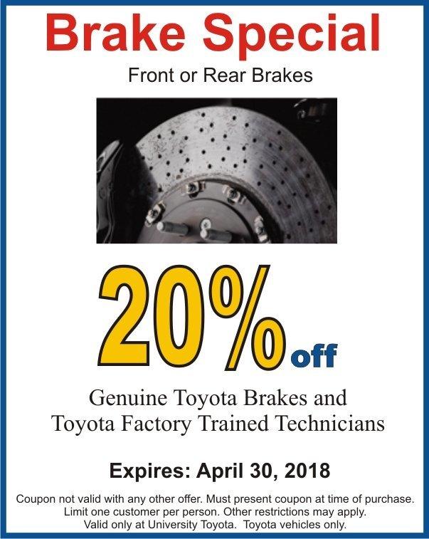 Brake Special Image