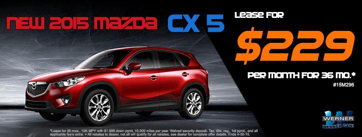 Mazda CX-5 April Offer
