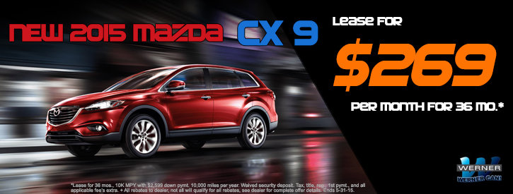 CX-9 May Lease Offer
