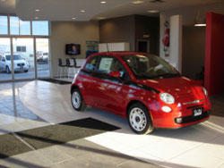 Fiat Showroom at Bob Ross Auto Group