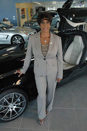 Janell Ross, President of Bob Ross Auto Group