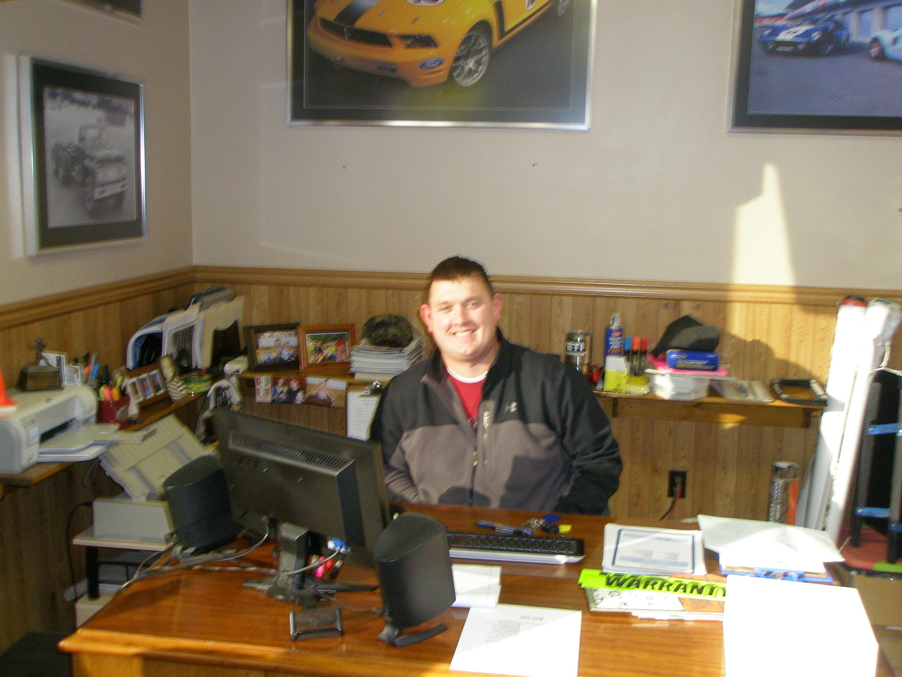 Jeff Walden - Sales/Internet