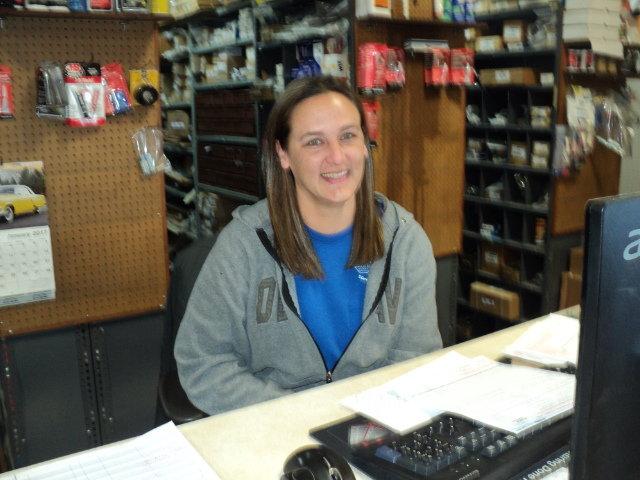 Tiffany Dowland - Parts Manager