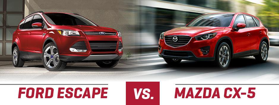 Mazda CX-5 vs. Ford Escape