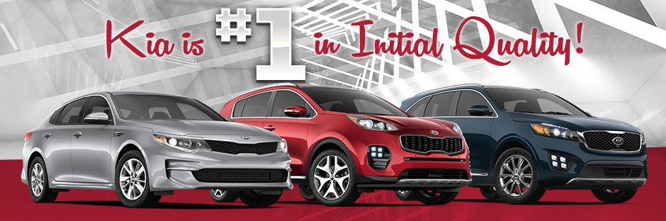 Kia Places First in J.D. Power Initial Quality Study