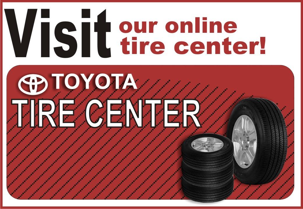University Toyota's Online Toyota Tire Center