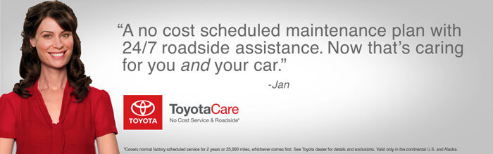 Toyota Care Banner
