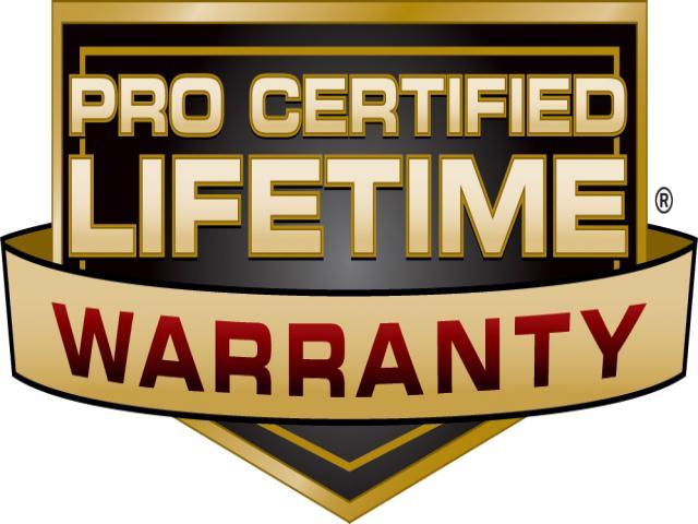 Pro Certified Warranty