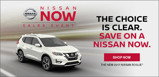 Nissan Now Sales event - 2017 Nissan Rogue