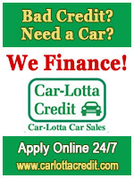 Bad Credit? Need a Car? We Finance!