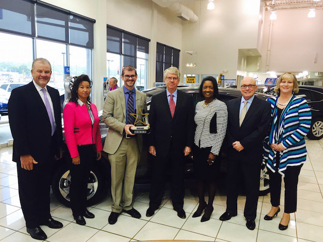 Honda Cars of Bellevue Award Winners