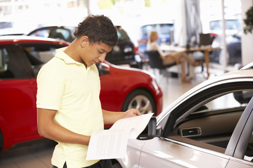 Financing Your First Car