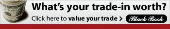 Find out what your trade-in is worth with BlackBook Online