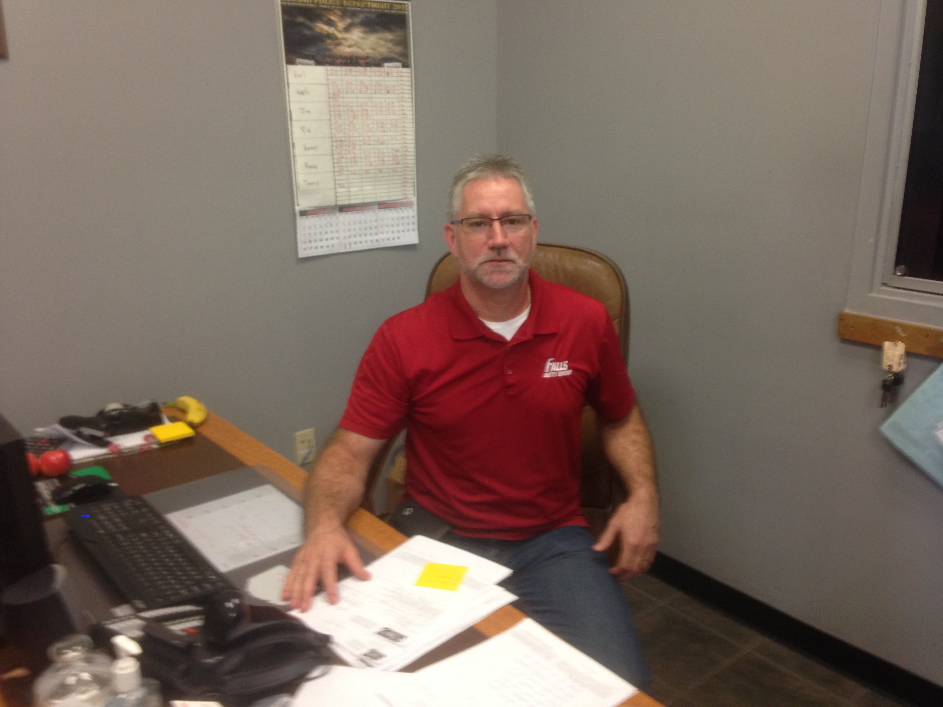 Kevin Baker - Ford Service Manager
