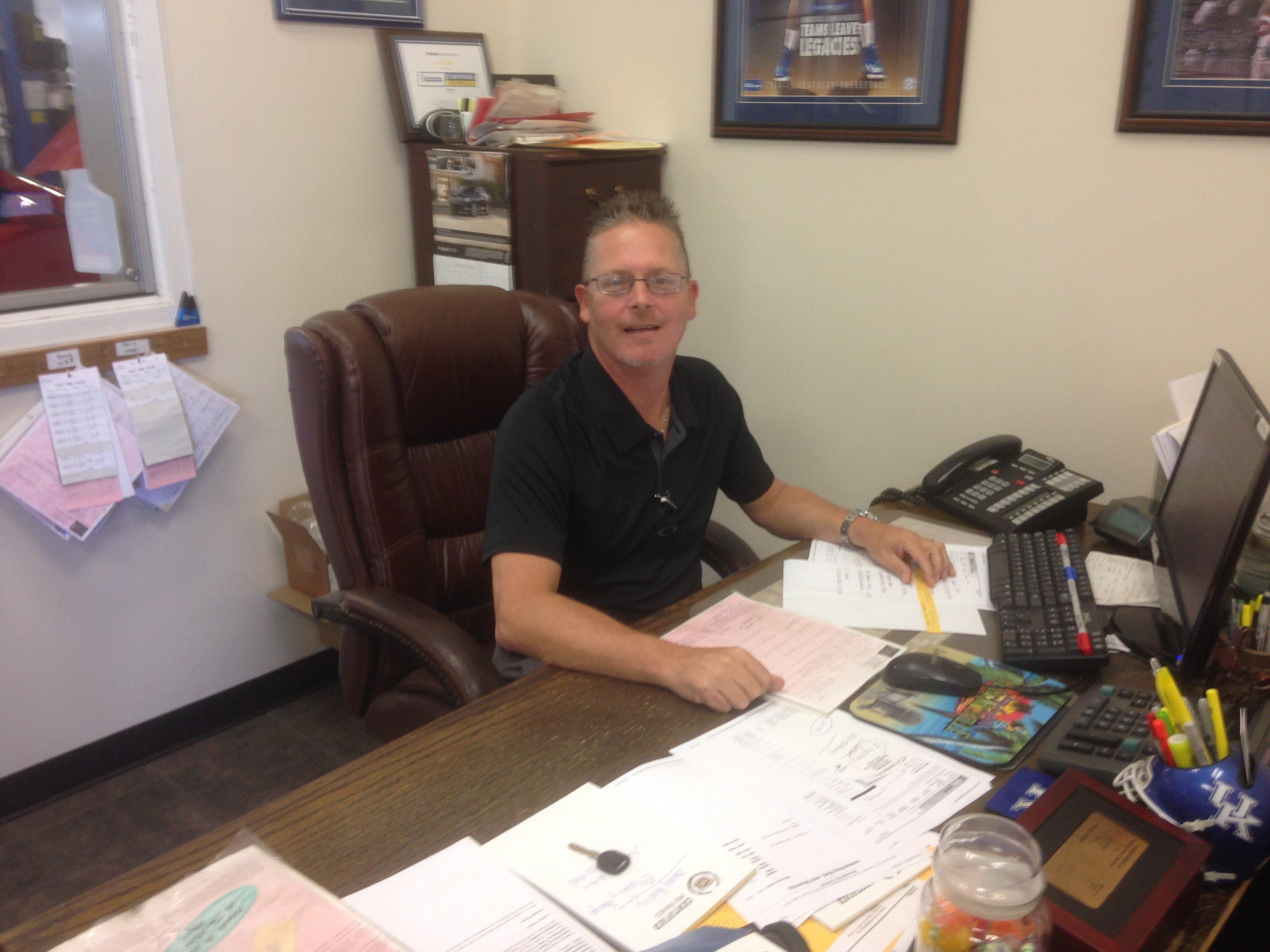 JR Sliter - GM Service Manager