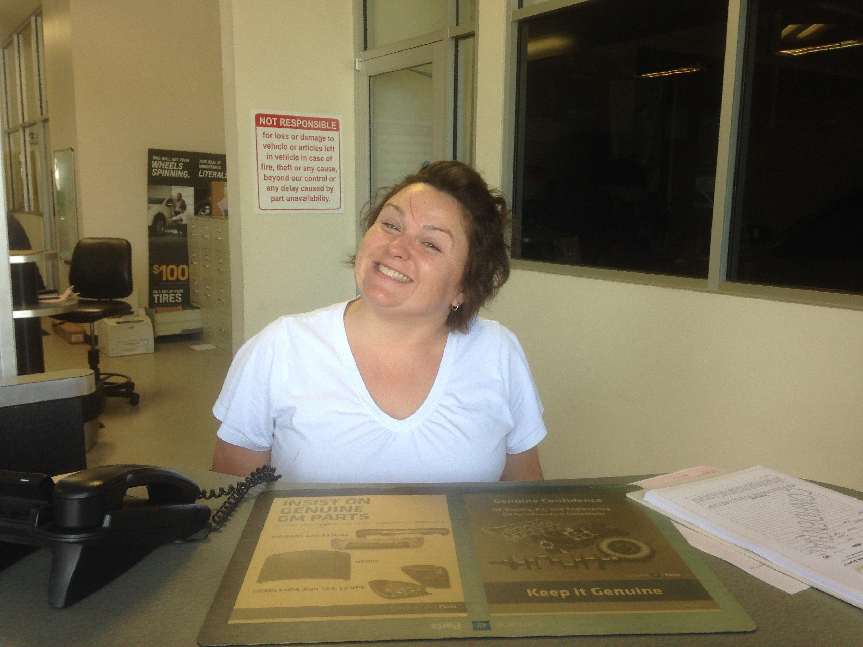 Beth Phipps - GM Service Advisor