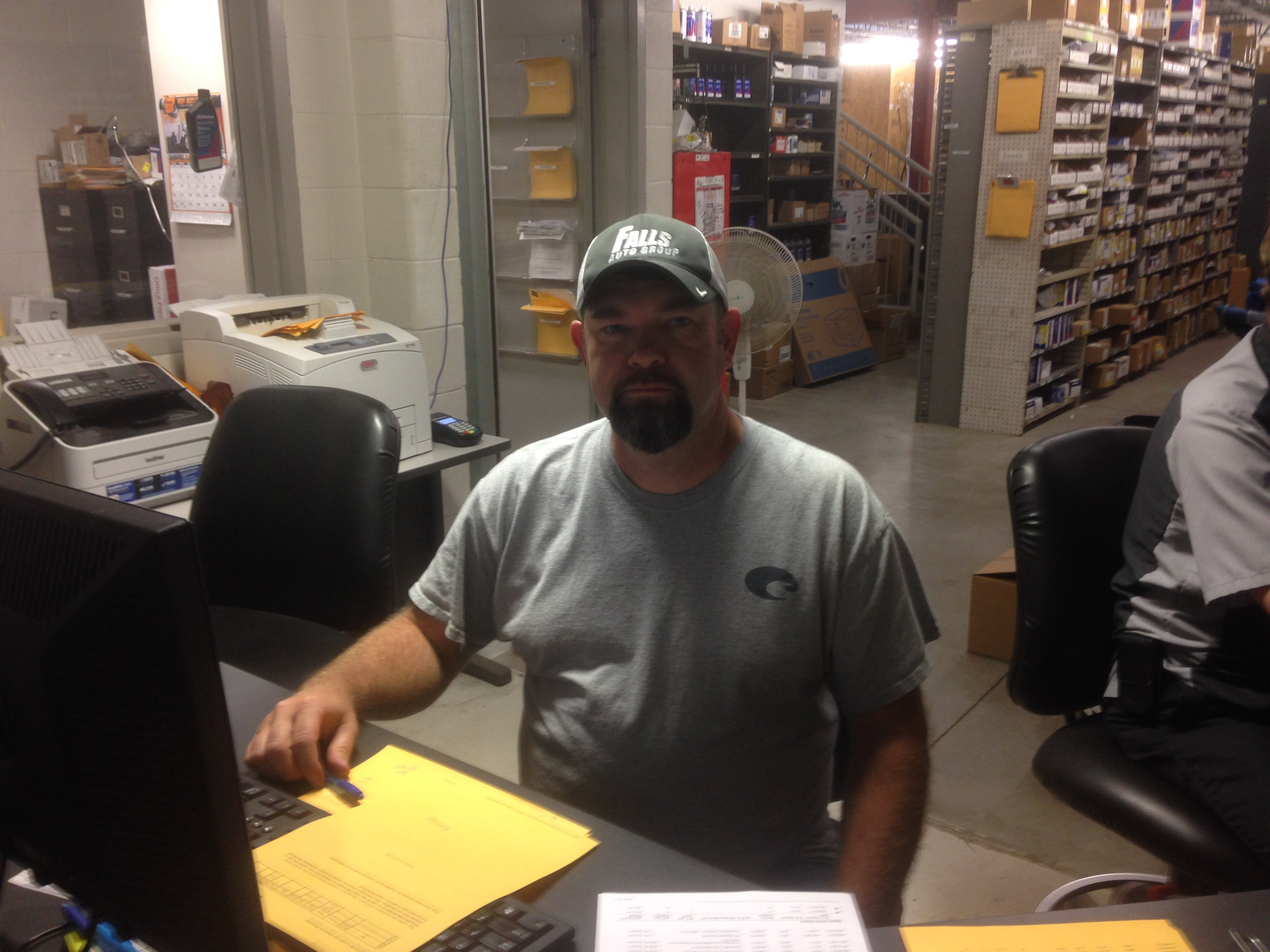 Barry Charmichael - GM Parts Manager