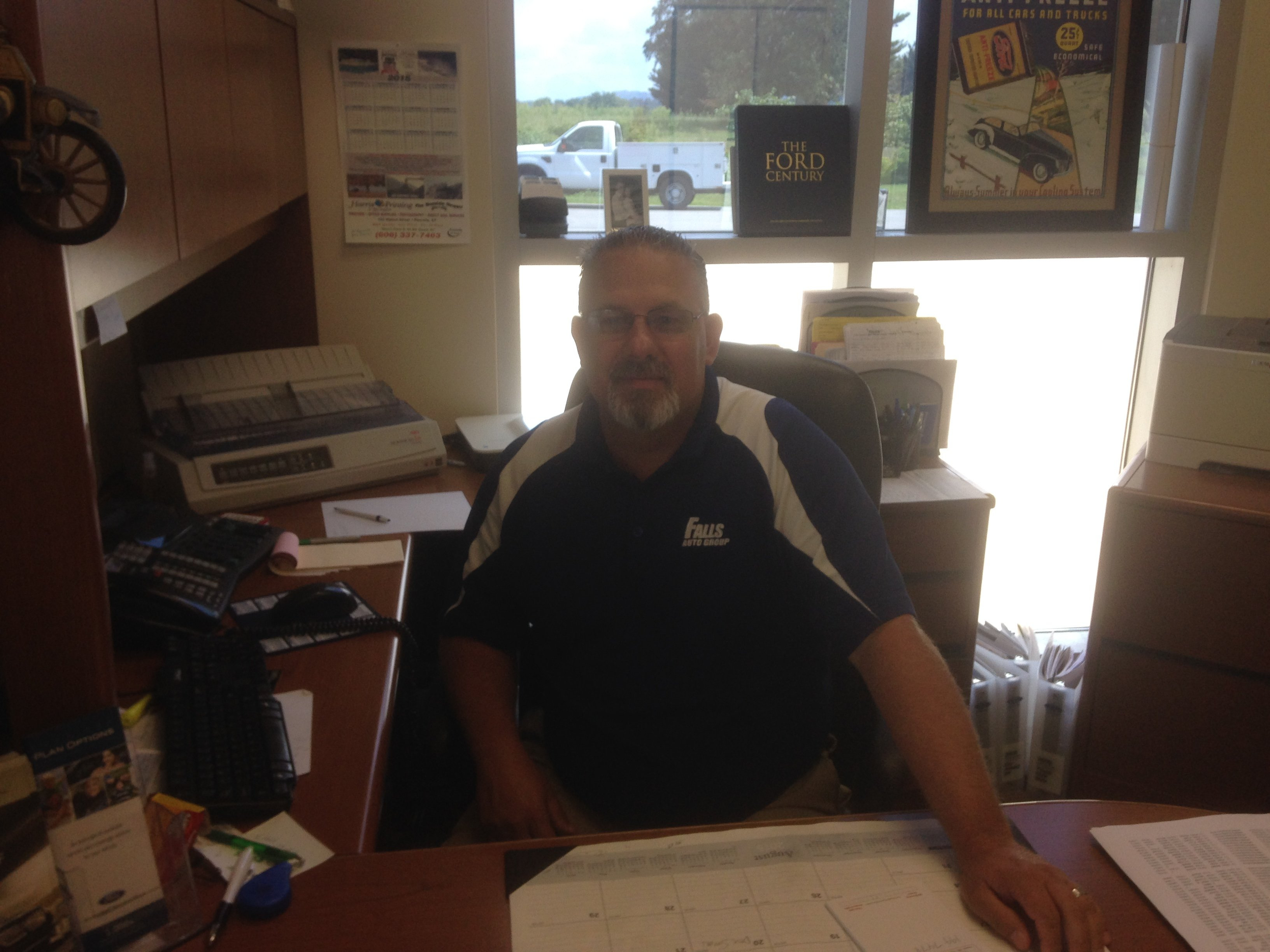 "Lonnie ""Peanut"" Williamson - Ford Sales Manager"
