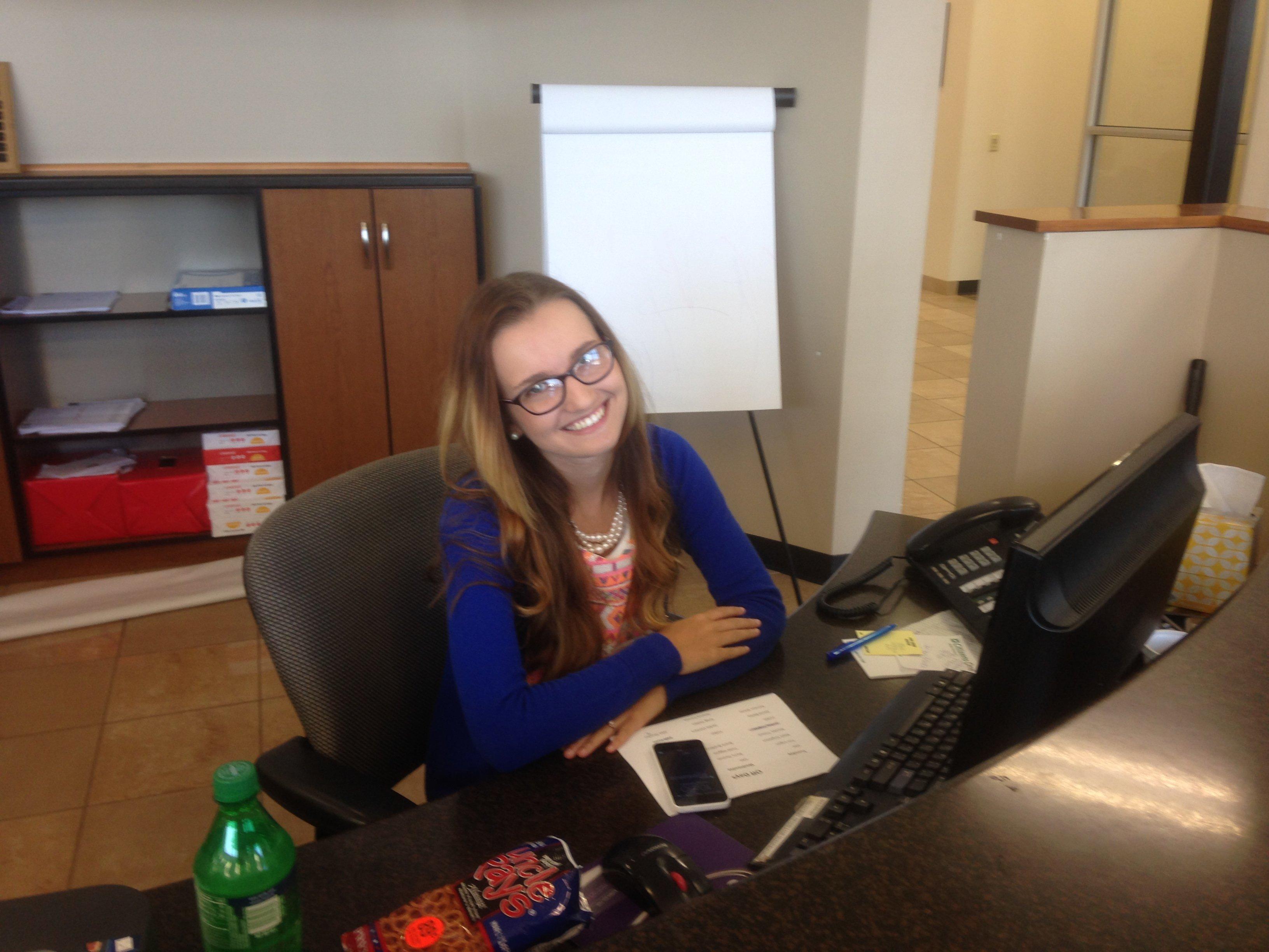 Chelsea Nichols - Ford Receptionist