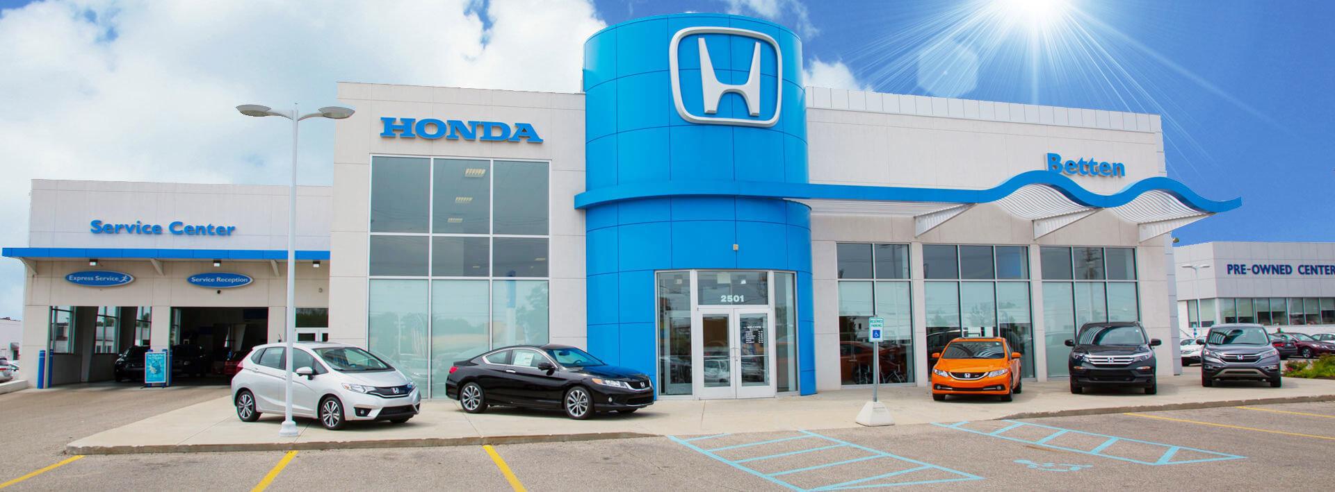 Betten Honda Banner