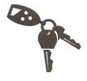 Hubler Parts Replacement Key