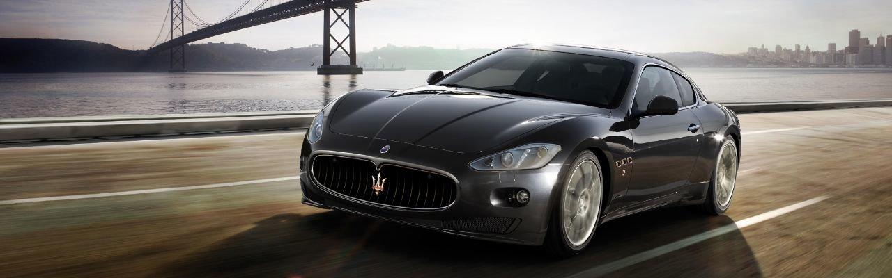 Parts and Service Maserati Banner