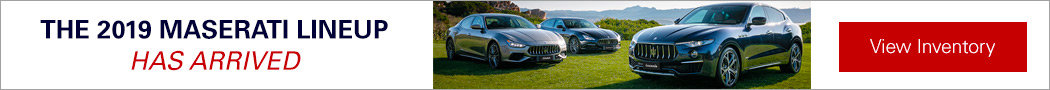 2019 Maserati lineup has arrived