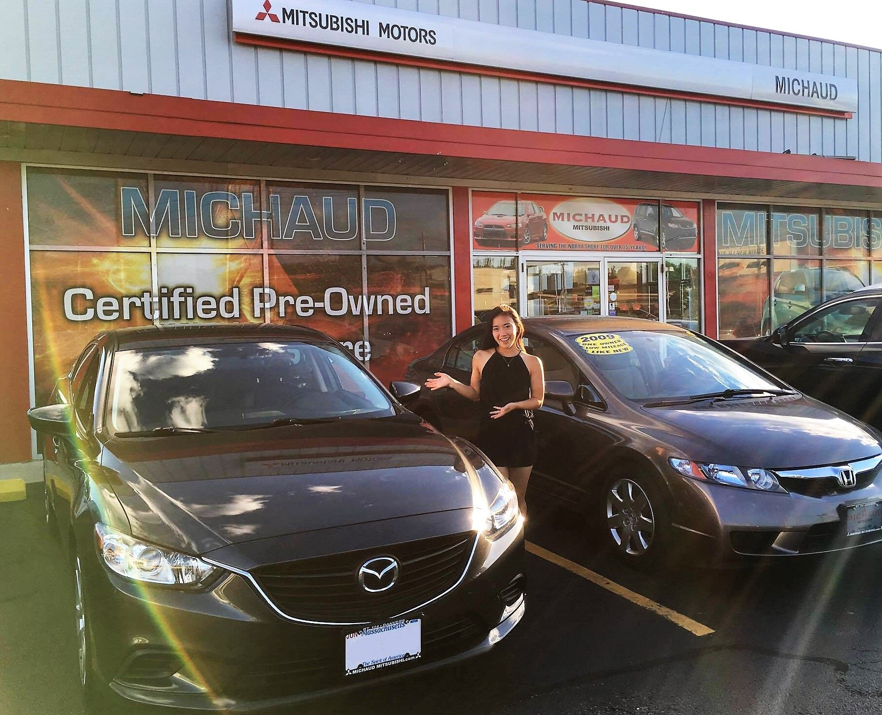 Happy Mazda Customer