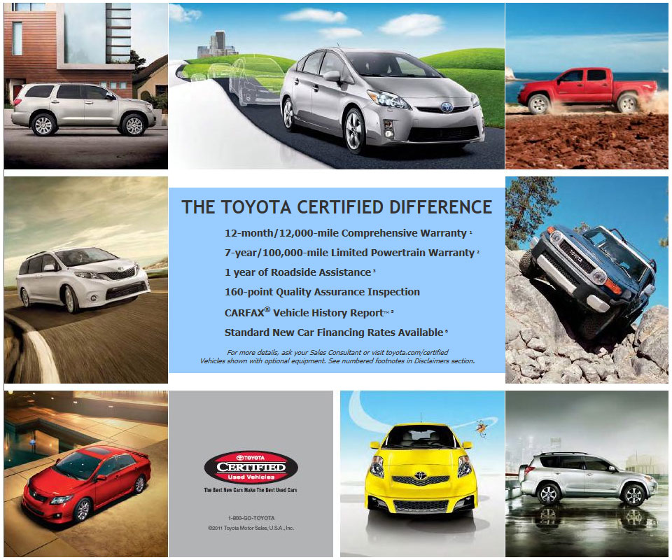 Toyota Certified Difference