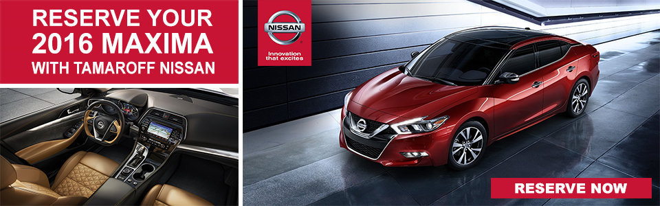 Reserve your 2015 Nissan Maxima