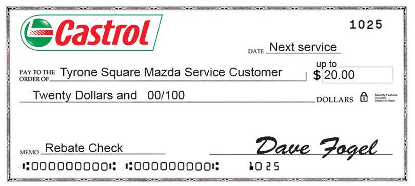 Tyrone Square Mazda Service Customer