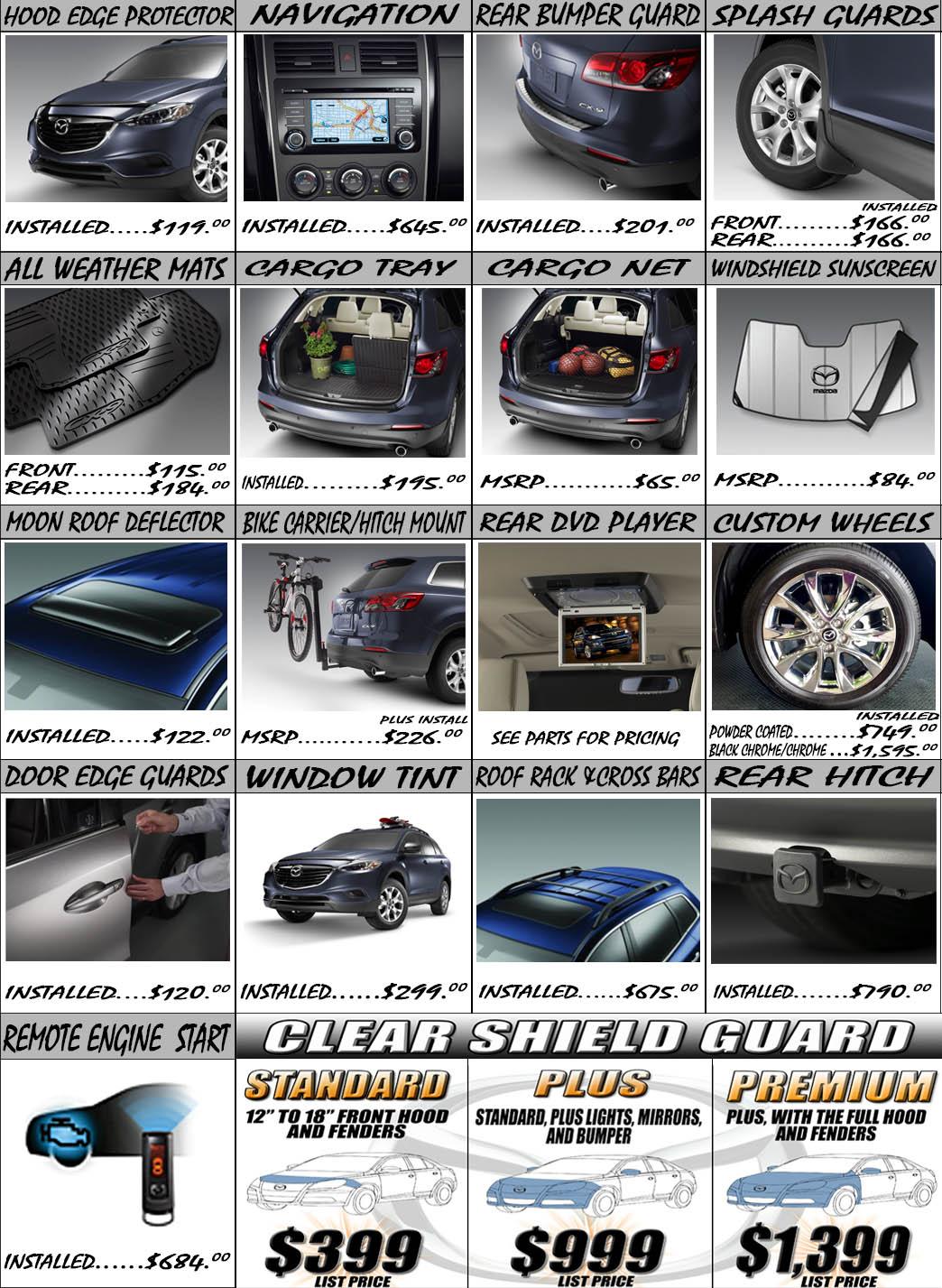 Mazda 3 Accessories & Parts - CARiD.com