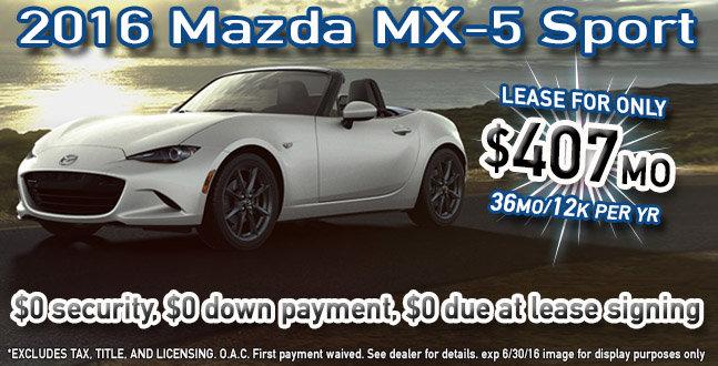 2016 Mazda MX-5 utah