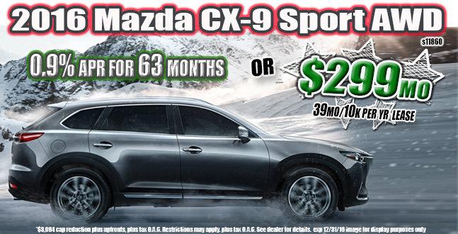 2016 Mazda CX-9 ut