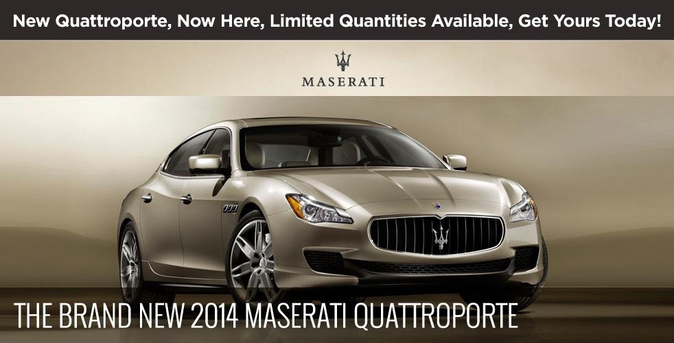 Ferrari Maserati Palm Beach 2014 Maserati Quattroporte