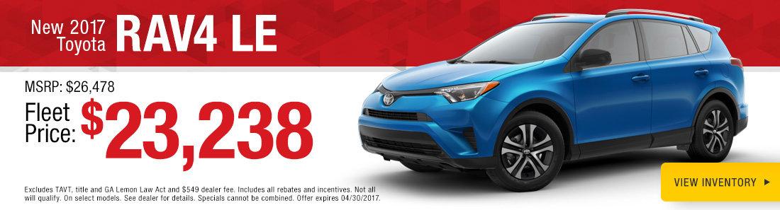 2017 Toyota RAV4 LE Savannah GA